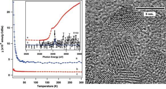 Dibujo20090520_CdSe_quantum_dots_Transmission_electron_microscopy