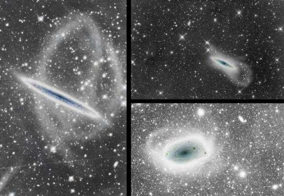 Dibujo20090806_Deep_image_stellar_tidal_stream_around_NGC_5907_left_NGC 4013_right_top_FSQ-106ED_right_bottom