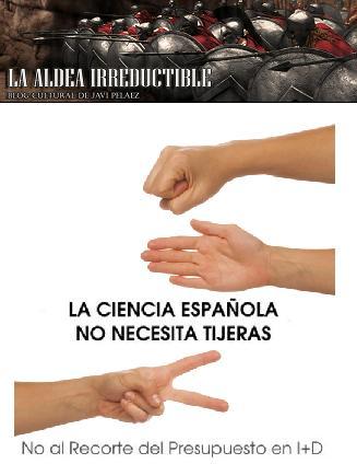 Dibujo20091005_aldea_irreductible_iniciativa_la_ciencia_española_no_necesita_tijeras