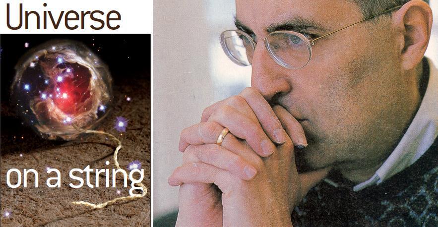 Resultado de imagen de Edward Witten revisita la teoría de supercuerdas perturbativa en Strings 2012