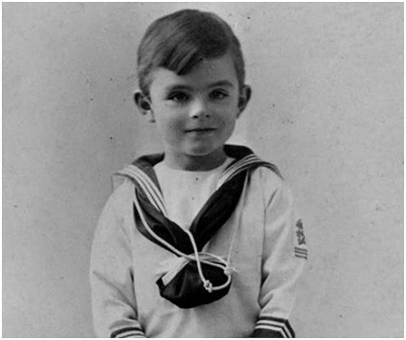 Infancia de Alan Turing