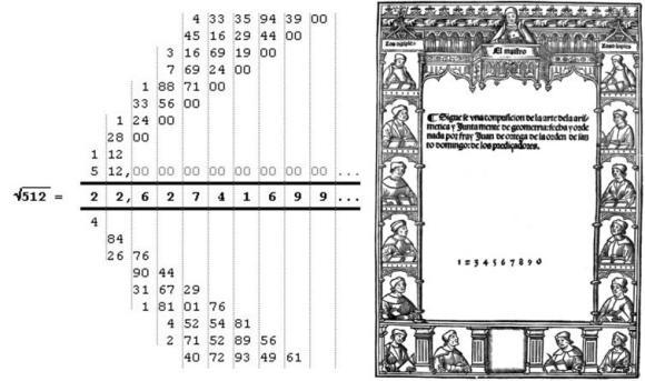 Dibujo20121220 juan de ortega - square root 512 - step by step