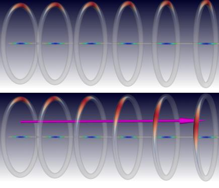 Dibujo20130109 structure heat superconducting rod - soliton rings - Wigner crystal rings