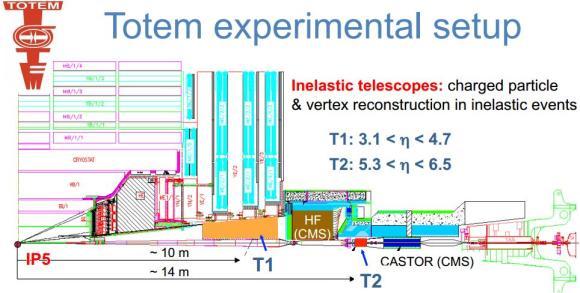 Dibujo20130121 totem lhc cern - experimental setup
