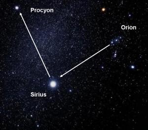 Dibujo20130122 Orion to Sirius to Procyon 300x264