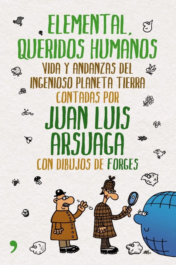 Dibujo20130223 book cover - elemental queridos humanos - arsuaga - forges
