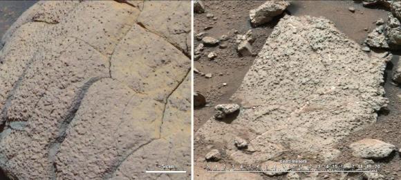 Dibujo20130317 Curiosity Rover Collects Martian Bedrock Sample