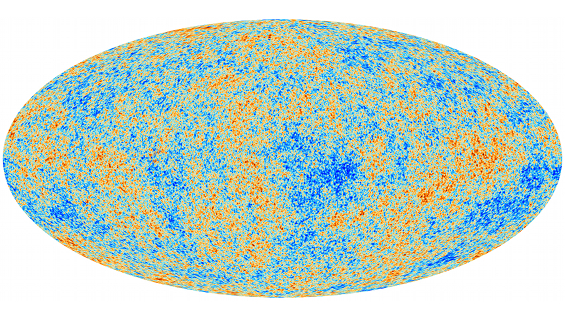Dibujo20130324 Planck spacecraft - cosmic microwave background
