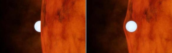 Dibujo20130407 white dwarf eclipse - left - white dwarf transit - right