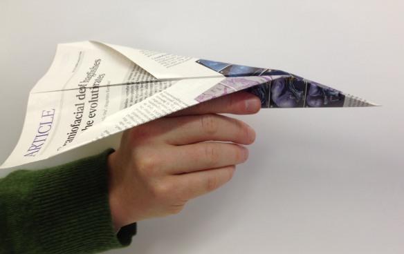 Dibujo20130501 research reproducibility - paper plane