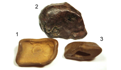 Dibujo20130504 Tunguska rocks - fragments meteorite or comet