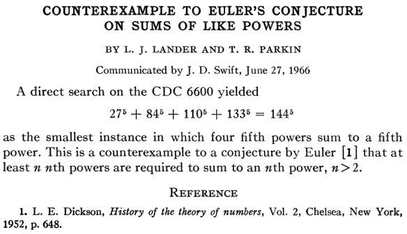 Dibujo20130521 counterexample to euler s conjecture on sums of like powers