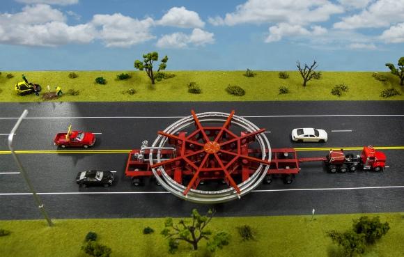Dibujo20130528 fermilab transport - muon-g-2-model