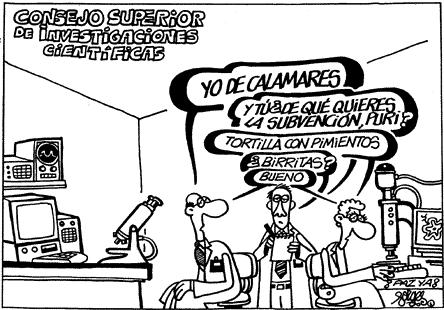 Dibujo20130713 CSIC - difficult funding situation - forges