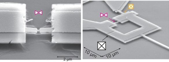Dibujo20130719 Micrograph SQUID Josephson junction with spectrometer and suspended bridge