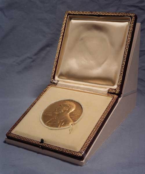Dibujo20131007 nobel medal - gold