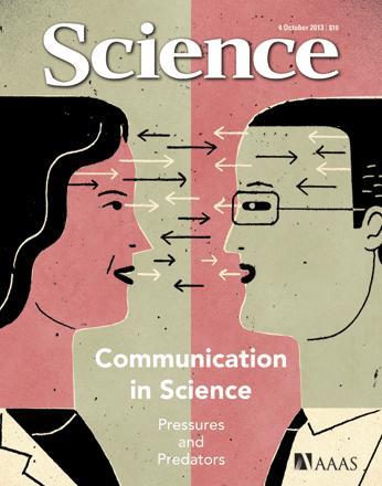 Dibujo20131008 science cover - communication in science