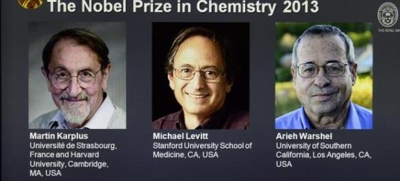 Dibujo20131009 karplus - levitt - warshel - nobel prize chemistry 2013