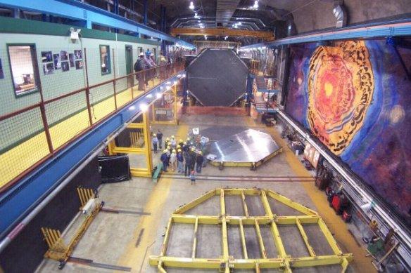 Dibujo20131019 minos far detector - soudan mine - usa