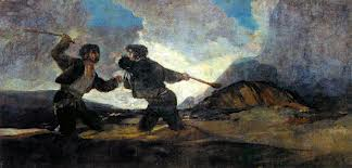 Dibujo20131029 goya - fighting