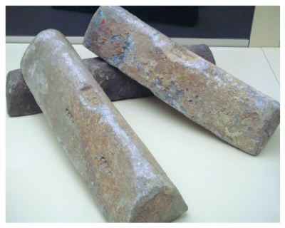 Dibujo20131107  lead ingots from 2000-year-old Roman wrecks - science mag