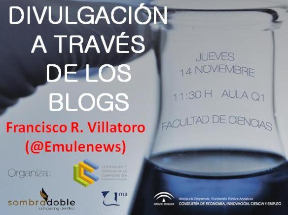 Dibujo20131112 divulgacion a traves de los blogs - fisrt slide talk