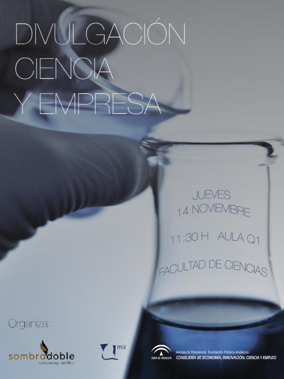 Dibujo20131112 divulgacion ciencia y empresa - sombradoble - poster