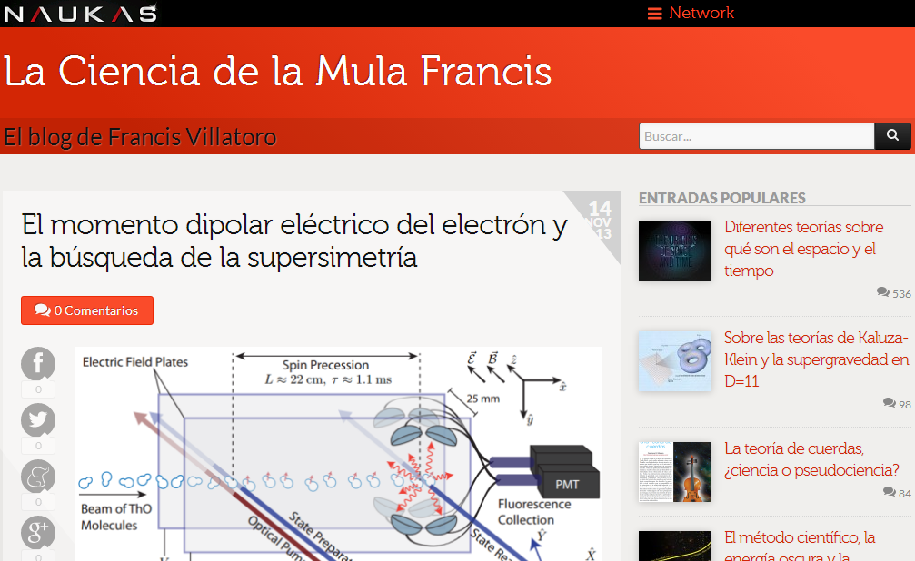 Francis (th)E mule Science's News