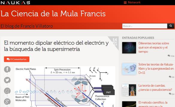 Dibujo20131114 la ciencia de la mula francis en la red de blog de naukas